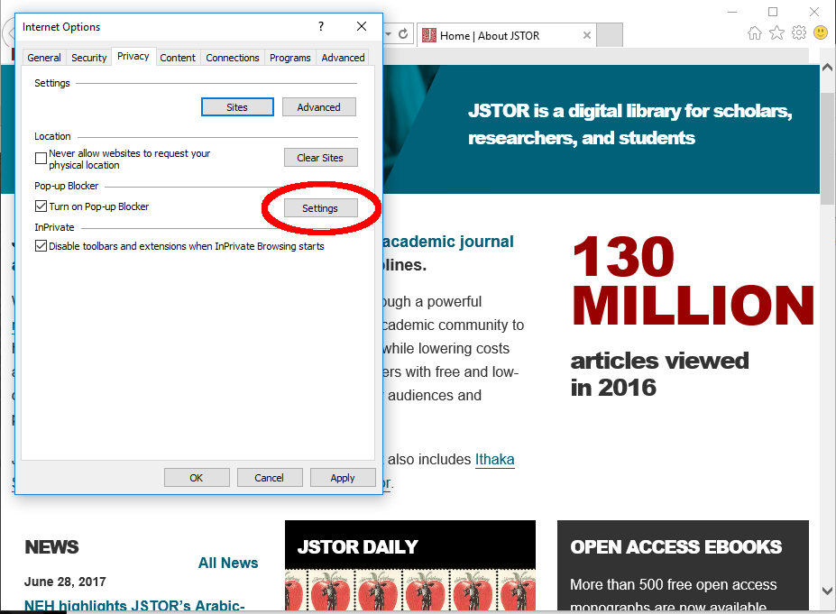 how to get jstor article