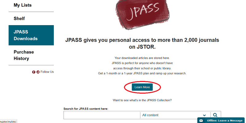 MyJSTOR_JPASS_page.PNG